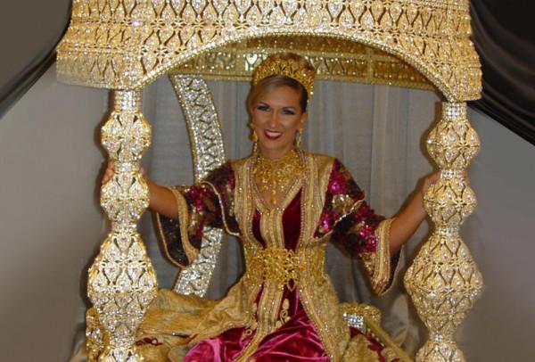 ديكور حفلات الزفاف المغربية