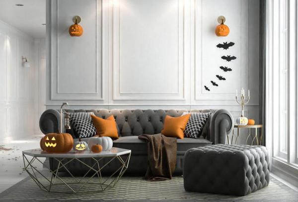 القرع العسلي في ديكورات المنزل بالخريف