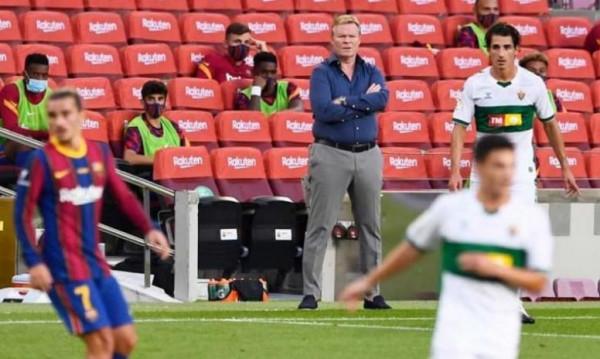 كومان يستهل مبارياته مع برشلونة بمواجهة فياريال في الدوري الإسباني