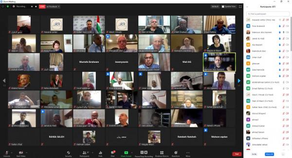 مسارات يناقش وثيقة سيناريوهات الصمود في الحالة الفلسطينية
