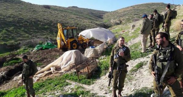 الاحتلال يخطر بالاستيلاء على أراض في الأغوار الشمالية