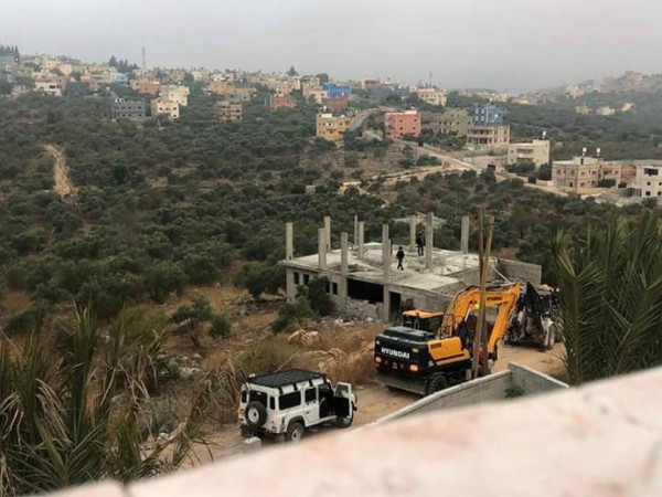 سلفيت: الاحتلال يمنع استكمال حفر بئر لجمع المياه