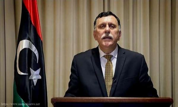 فايز السراج: ليبيا ترفض أي تفاهمات لم يُوافق عليها الفلسطينيون