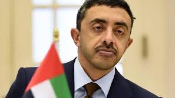 تفاصيل رسالة وزير الخارجية الإماراتي لليونان