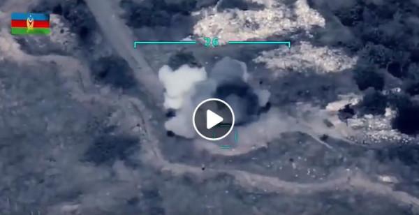 شاهد: الجيش الأذربيجاني يُوثق أول ضربة عسكرية ضد أرمينيا