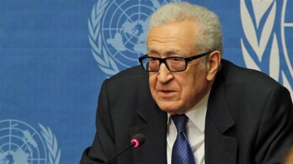 الإبراهيمي يسلم رسالة للأمين العام للأمم المتحدة دعما لحقوق الشعب الفلسطيني