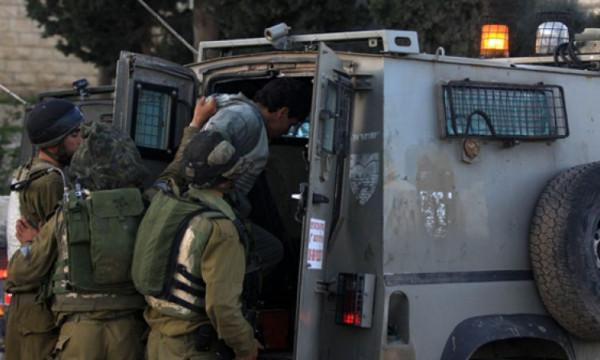 الاحتلال يعتقل أربعة شبان شرق نابلس