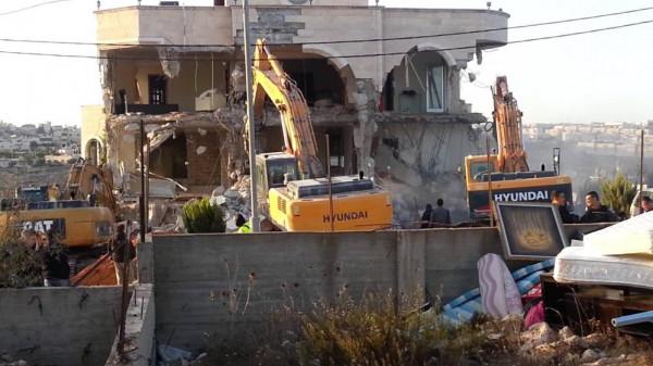 الأمم المتحدة: الاحتلال هدم 506 مبانٍ منذ بداية العام