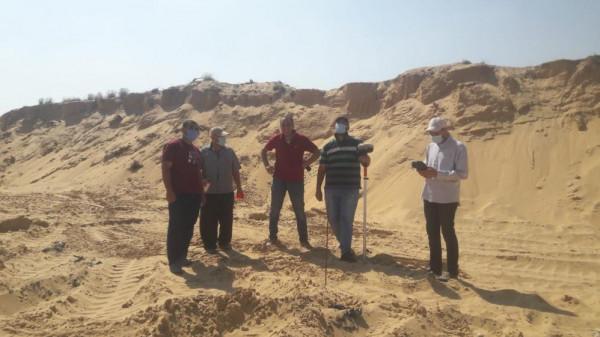 وزارة الاقتصاد الوطني تفتح مقالع الرمال في جميع المحافظات
