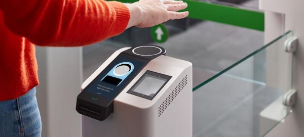(أمازون) تريد أن تبدأ بإجراء عمليات الدفع باستخدام راحة يدك
