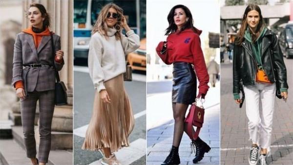 20 طريقة رائعة لارتداء السويت شيرت في الخريف