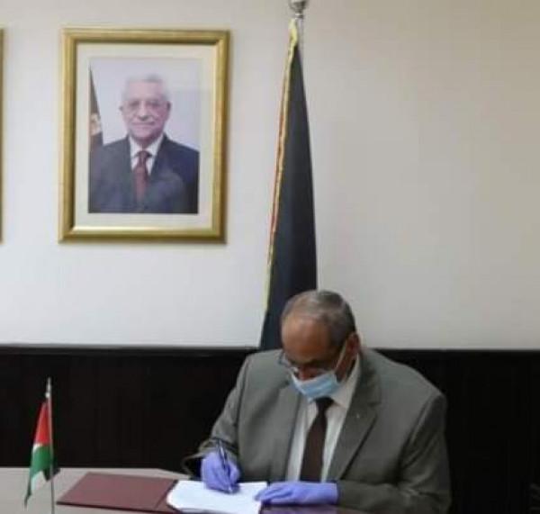 وزير الأشغال: توقيع اتفاقية المنحة السعودية مع البنك الإسلامي بقيمة 5.5 مليون دولار