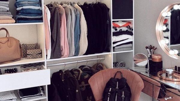 أفكار لعمل غرفة ملابس في المساحات الصغيرة