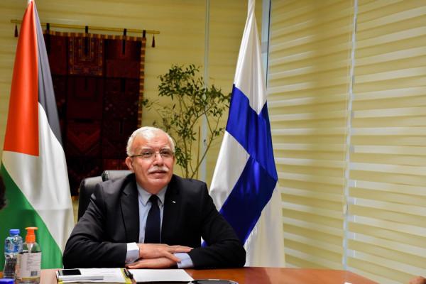 الوزير د. المالكي يلتقي نظيره الفنلندي