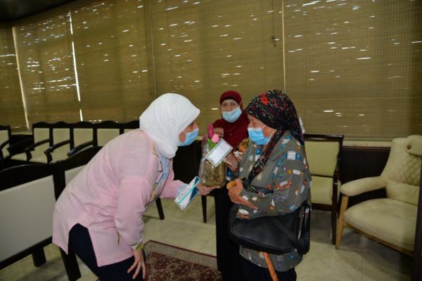 د.غنام تطلق فعاليات أكتوبر الوردي للتوعية بسرطان الثدي