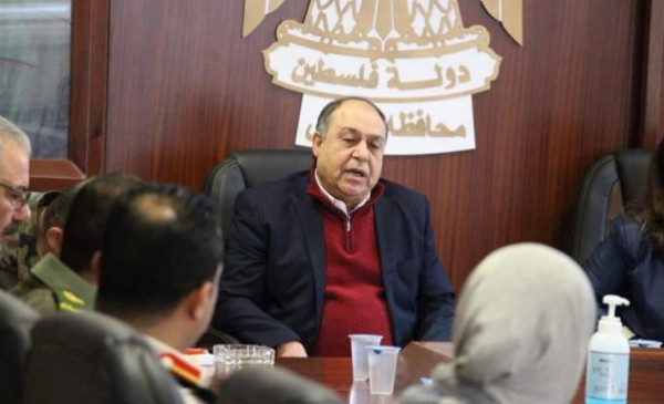 تعافي محافظ نابلس إبراهيم رمضان من إصابته بفيروس (كورونا)
