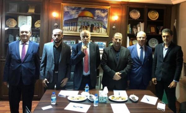 حماس تكشف نتائج اجتماعاتها الخاصة المتعلقة بتطورات الحالة الوطنية