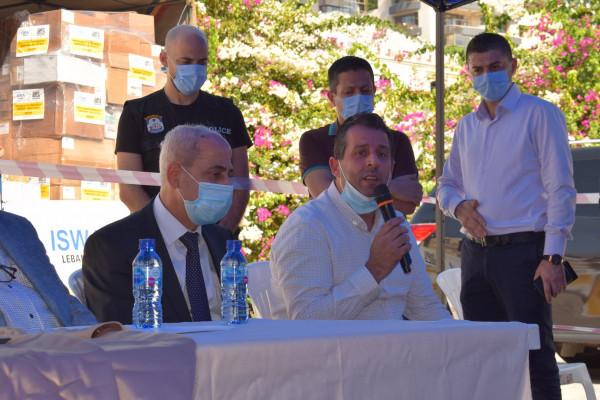 """""""الرعاية"""" تسلّم مساعدات ومسلتزمات طبية لمستشفى الروم بدعم من جمعية بيت المال - أميركا"""
