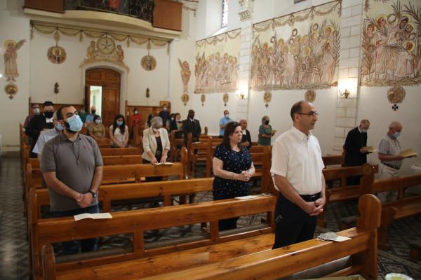 قداس احتفالي في جامعة بيت لحم بمناسبة بدء العام الاكاديمي الجديد