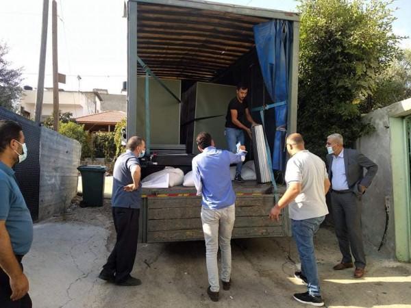 التنمية الاجتماعية ومعهد أريج والغذاء العالمي يسلمون 6 مشاريع في محافظة طوباس