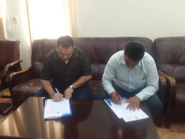 توقيع اتفاقية تعاون بين جامعة العلوم والتكنولوجيا والشركة الدوائية الحديثة بالحديدة