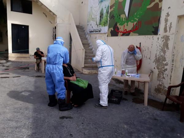 مستشفى الشهيد محمود الهمشري يجري فحوصات بمقر القوة الأمنية المشتركة