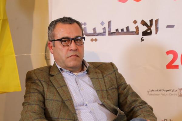 عدنان الصباح: نطالب بالإفراج الفوري عن الأسير ماهر الأخرس