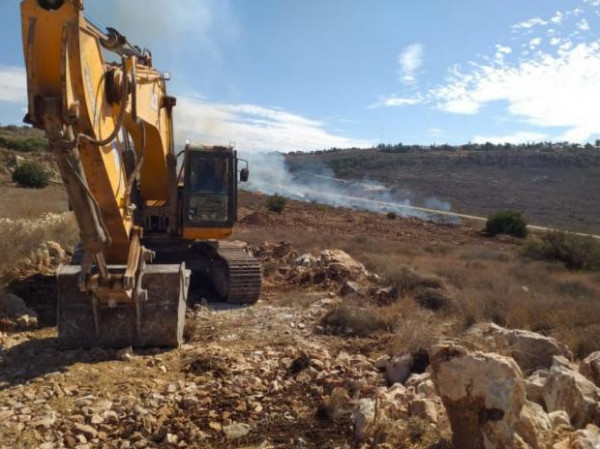 الاحتلال يعتدي على مشروع للإغاثة الزراعية في الكفريات بمحافظة طولكرم