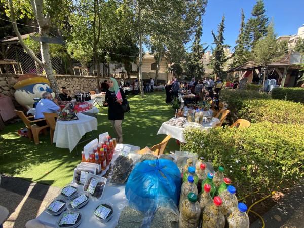 جمعية التنمية الريفية تفتتح سوق نبع الخيرات في بيت جالا