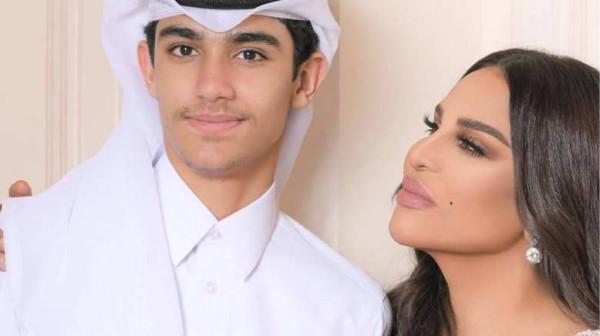 "احلام تكشف اسرار ابنها فاهد: ""الحب احم احم سعودي"""