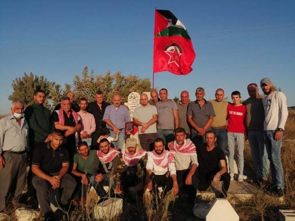 الجبهة الديمقراطية لتحرير فلسطين بجنين تحي الذكرى 32 لاستشهاد احمد الكيلاني