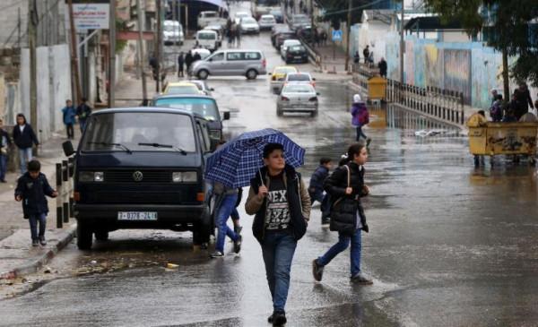 شاهد: أول منخفض جوي يضرب فلسطين نهاية الأسبوع الجاري