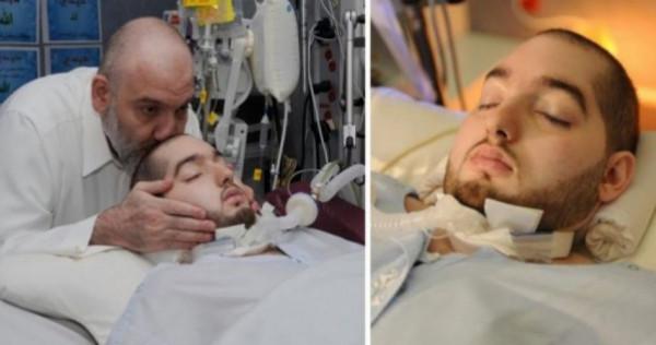 """شاهد: رد فعل مفاجئ من """"الأمير النائم"""" في غيبوبة منذ 15 عامًا"""