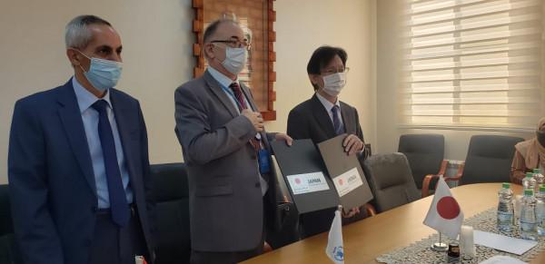اليابان توقع اتفاقية مع برنامج الأغذية العالمية لصالح فقراء فلسطين