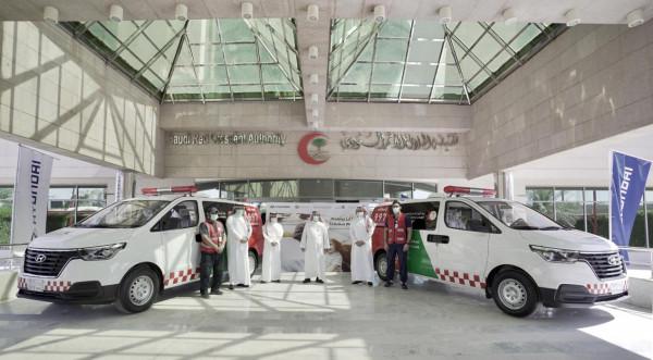 هيونداي تقدم 24 مركبة للهلال الأحمر السعودي للمساعدة في مكافحة كورونا