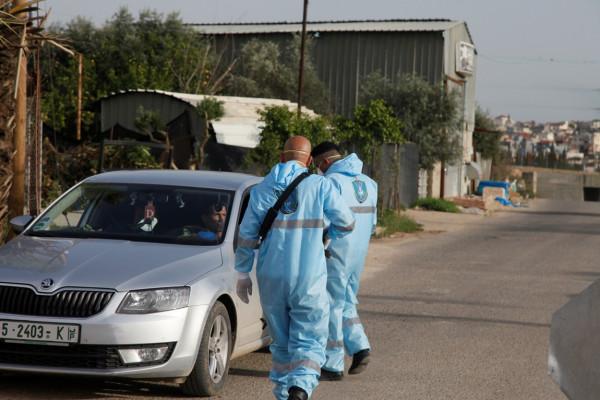 قلقيلية: عدد الإصابات بفيروس (كورونا) بلغ هذا اليوم تسع إصابات