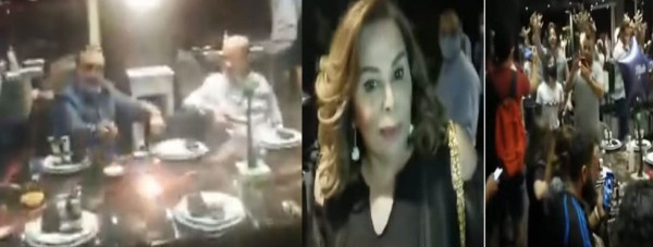 "فيديو لاقتحام حفل عيد ميلاد لزوجة حاكم مصرف لبنان رياض سلامة..""زوجك سرقنا""   9999081740"