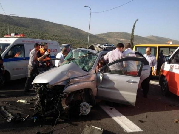 الشرطة: مصرع ثلاثة أشخاص وإصابة 262 آخرين في 289 حادث سير الأسبوع الماضي