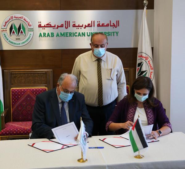 الجامعة العربية الأمريكية والإحصاء يتفقان على إطلاق تخصص الاحصاء وعلم البيانات