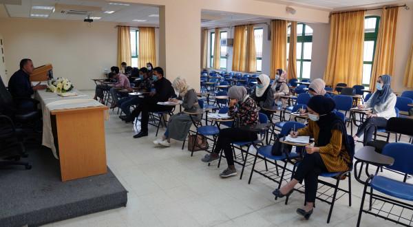 الجامعة العربية الأمريكية تطلق محاضرات لخريجي كلية الحقوق المقبلين على امتحان المزاولة