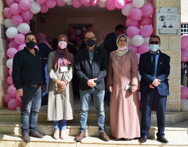صحة بيت لحم تنظم فعالية توعوية حول سرطان الثدي