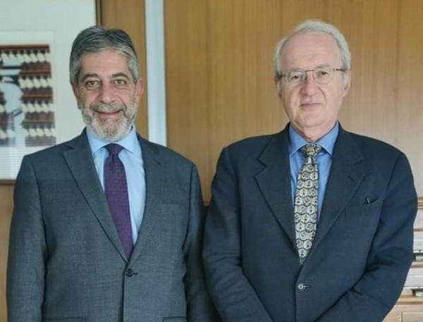 السفير طوباسي يبحث عضوية اللجنة الدولية لمنع التعذيب مع مسؤول يوناني