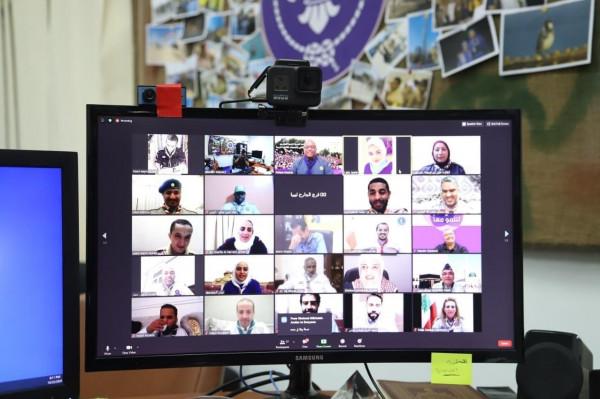 اختتام فعاليات الدراسة العربية الرقمية للمتفرغين للعمل الكشفي بالجمعيات العربية