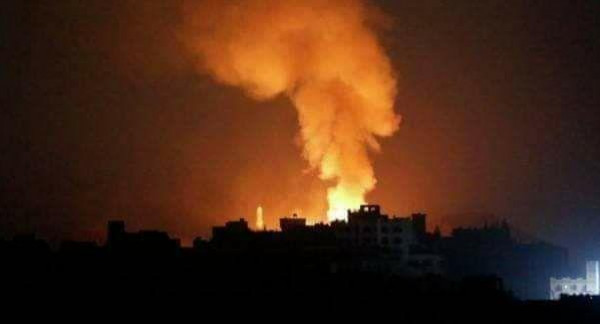 شاهد: طائرات الاحتلال تقصف عدة مواقع في قطاع غزة