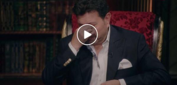 شاهد: هاني شاكر يبكي على الهواء بعد تذكر ابنته