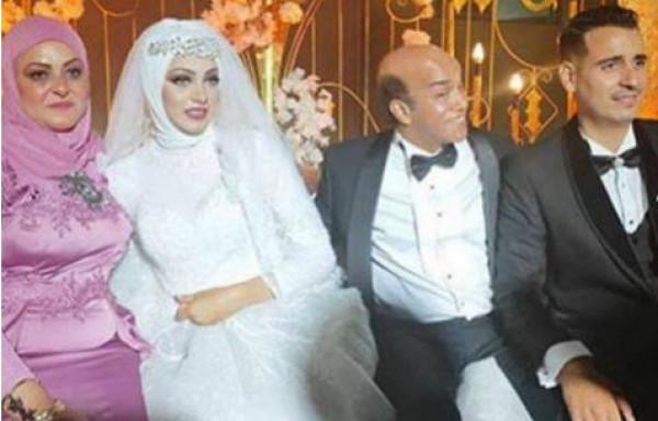 صور: احتشام ابنة سليمان عيد يوم زفافها حديث السوشيال ميديا