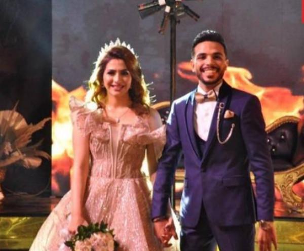 صور: أحمد شيبة يحتفل بخطوبة ابنته بحضور نجوم الغناء الشعبي