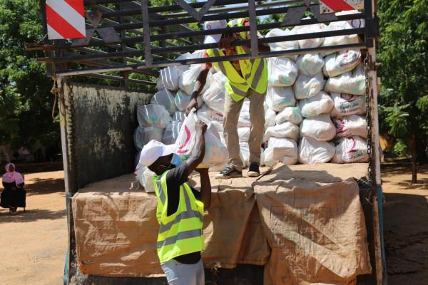 إغاثة عاجلة من قطر الخيرية لمتضرري الأمطار بالسودان 
