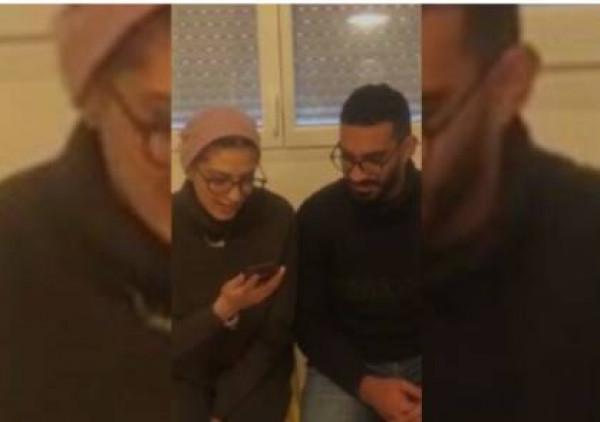 شاهد: الملك عبد الله والملكة رانيا يطمئنان على المصابين الأردنيين في فرنسا