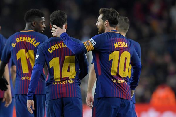 نجم برشلونة يغيب عن قمة يوفنتوس في دوري الأبطال
